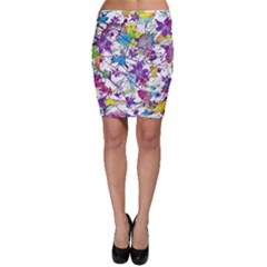Lilac Lillys Bodycon Skirt