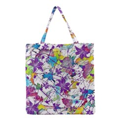 Lilac Lillys Grocery Tote Bag