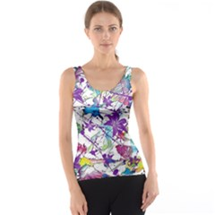 Lilac Lillys Tank Top