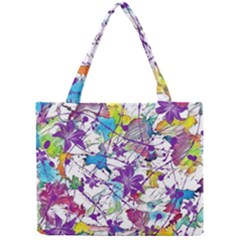 Lilac Lillys Mini Tote Bag