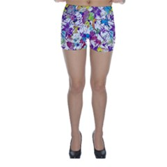 Lilac Lillys Skinny Shorts