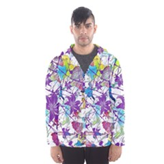 Lilac Lillys Hooded Wind Breaker (Men)