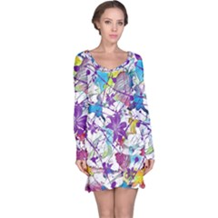 Lilac Lillys Long Sleeve Nightdress