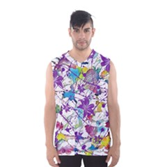 Lilac Lillys Men s Basketball Tank Top