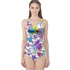 Lilac Lillys One Piece Swimsuit