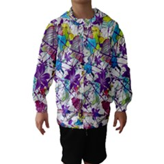 Lilac Lillys Hooded Wind Breaker (kids)