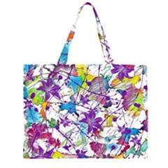 Lilac Lillys Large Tote Bag