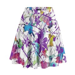 Lilac Lillys High Waist Skirt