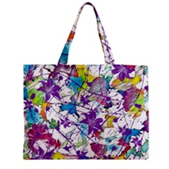 Lilac Lillys Medium Tote Bag