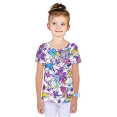 Lilac Lillys Kids  One Piece Tee