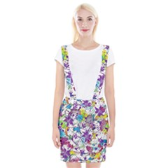 Lilac Lillys Braces Suspender Skirt
