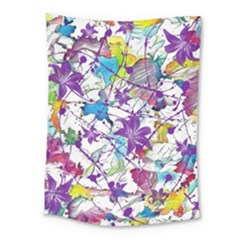 Lilac Lillys Medium Tapestry