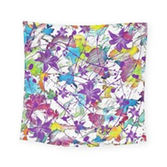 Lilac Lillys Square Tapestry (Small)