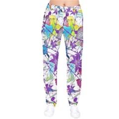 Lilac Lillys Drawstring Pants