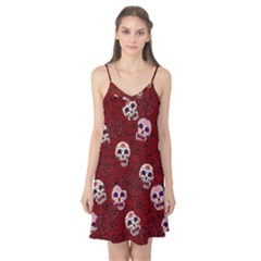 Funny Skull Rosebed Camis Nightgown