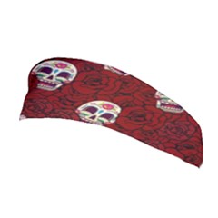 Funny Skull Rosebed Stretchable Headband