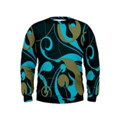 Floral pattern Kids  Sweatshirt