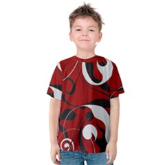 Floral pattern Kids  Cotton Tee