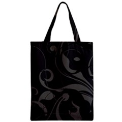 Floral pattern Zipper Classic Tote Bag