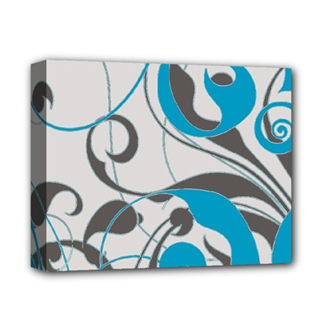 Floral pattern Deluxe Canvas 14  x 11