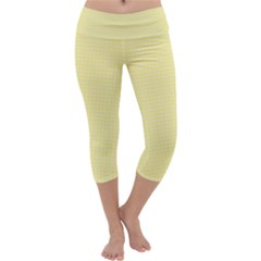 Color Capri Yoga Leggings
