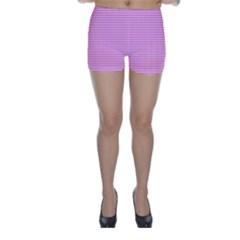 Color Skinny Shorts