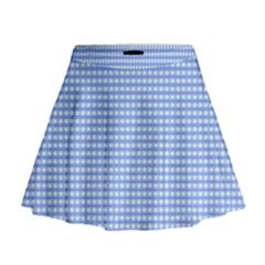 Color Mini Flare Skirt