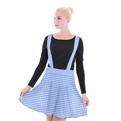 Color Suspender Skater Skirt