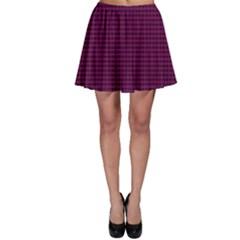 Color Skater Skirt