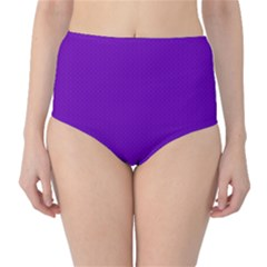 Color High-Waist Bikini Bottoms