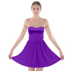 Color Strapless Bra Top Dress