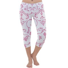 Ornament  Capri Yoga Leggings