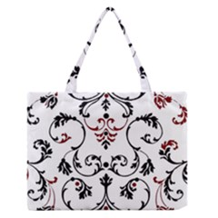 Ornament  Medium Zipper Tote Bag