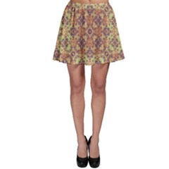 Vintage Ornate Baroque Skater Skirt