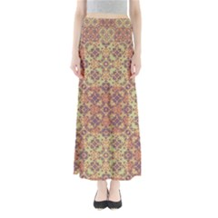 Vintage Ornate Baroque Maxi Skirts