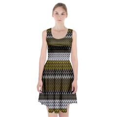 Pattern Racerback Midi Dress