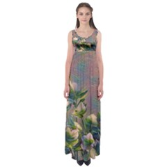 Colour Fantasy Empire Waist Maxi Dress