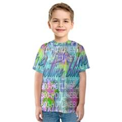 Drake 1 800 Hotline Bling Kids  Sport Mesh Tee
