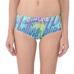 Drake 1 800 Hotline Bling Mid-Waist Bikini Bottoms