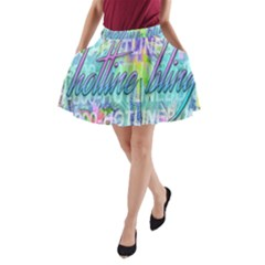 Drake 1 800 Hotline Bling A-Line Pocket Skirt