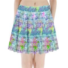 Drake 1 800 Hotline Bling Pleated Mini Skirt