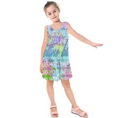 Drake 1 800 Hotline Bling Kids  Sleeveless Dress