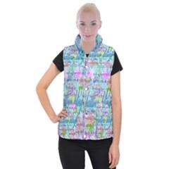 Drake 1 800 Hotline Bling Women s Button Up Puffer Vest