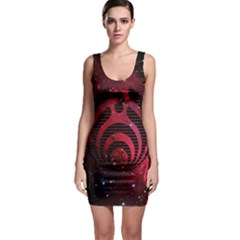 Bassnectar Galaxy Nebula Sleeveless Bodycon Dress