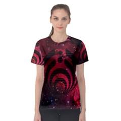 Bassnectar Galaxy Nebula Women s Sport Mesh Tee