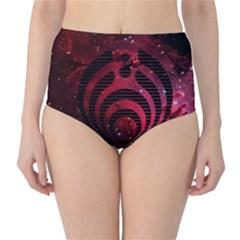 Bassnectar Galaxy Nebula High-Waist Bikini Bottoms