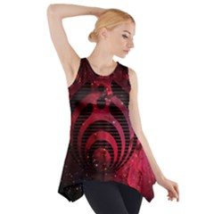 Bassnectar Galaxy Nebula Side Drop Tank Tunic