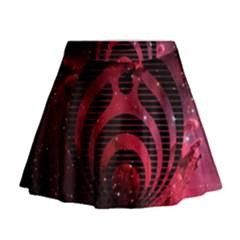 Bassnectar Galaxy Nebula Mini Flare Skirt
