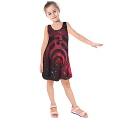 Bassnectar Galaxy Nebula Kids  Sleeveless Dress