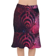 Bassnectar Galaxy Nebula Mermaid Skirt